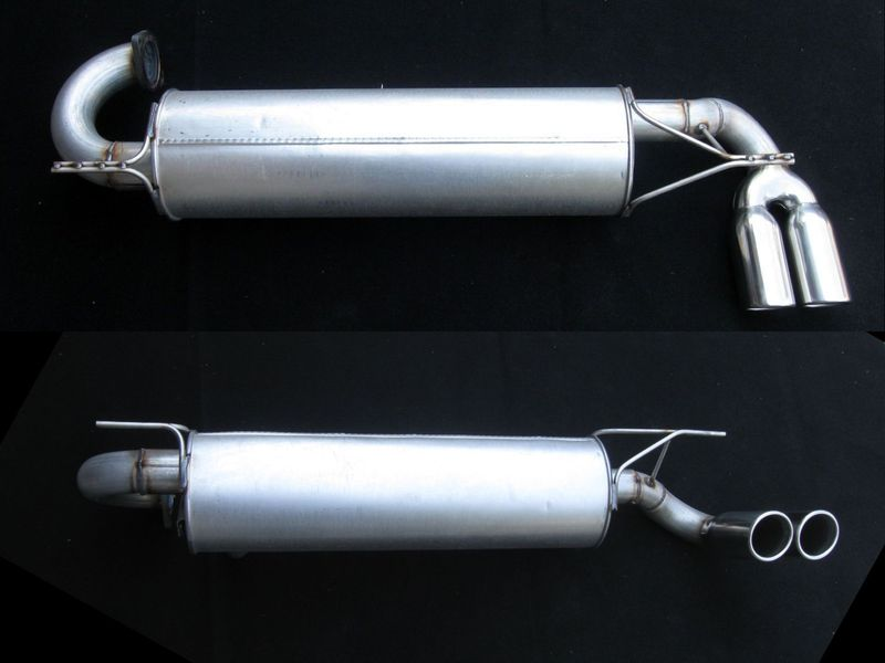 MR2 SC Cat-Back Sport Muffler